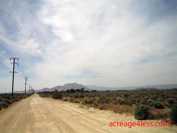 CALIFORNIA:  2.5 ACRES IN KERN COUNTY, CALIFORNIA - PROPERTY ID: #244-432-28 -  $3,500 / $450 DOWN